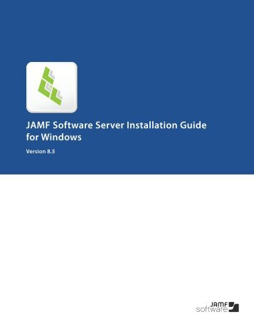JSS Database Utility - JAMF Software
