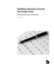 Building a Business Case for the Casper Suite - JAMF Software