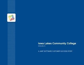 Iowa Lakes Community College - JAMF Software