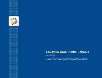 Lakeville Area Public Schools Case Study - JAMF Software