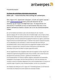 Presseinformation Robo Job – Futuristisches ... - DocCheck AG
