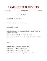 Jamshedpur Jesuits