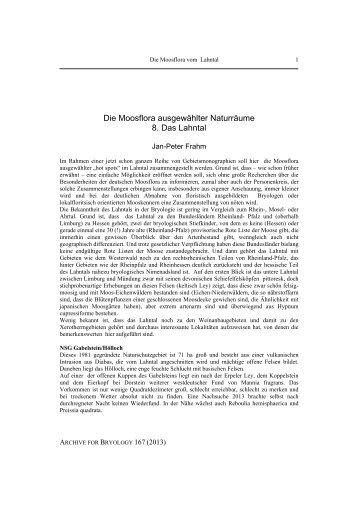Archive 167.pdf - Jan-Peter Frahm