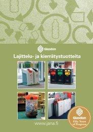 Esite, suomenkielinen - Jana Oy
