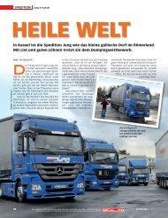 Heile Welt - transportreport.de