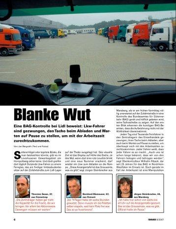Blanke Wut - Jan Bergrath