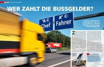 WeR zahlT Die BuSSgelDeR? - Jan Bergrath