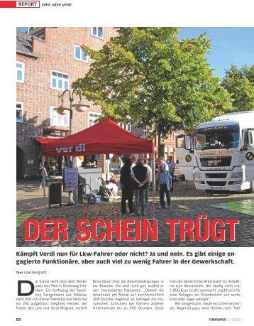 Der Schein trügt - transportreport.de