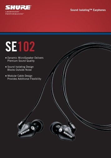 Sound Isolating™ Earphones - Jands