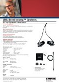 Sound Isolating™ Earphones - Jands - Page 2