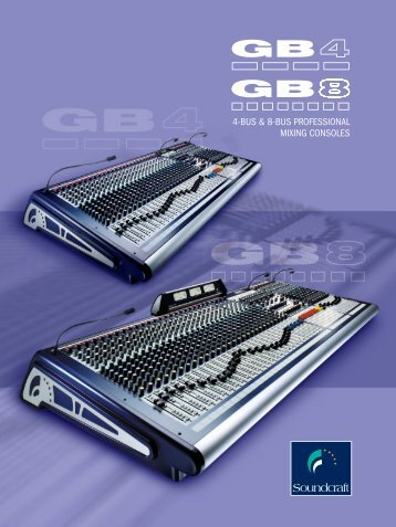 GB-Serie Katalog (German) - Soundcraft