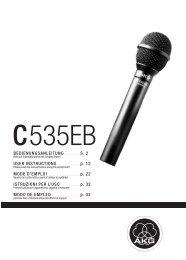 C535EB - AKG - Sonostudi