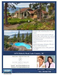 14374 Moberly Road, Lake Country, BC - Jane Hoffman