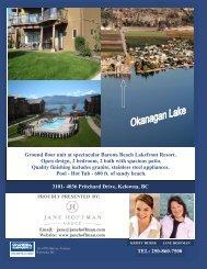 TEL: 250-860-7500 3101- 4036 Pritchard Drive ... - Jane Hoffman