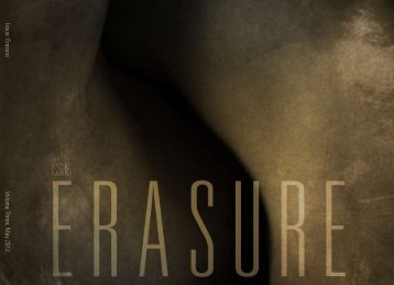 Issue: Erasure Volume Three, May 2012 - Jan Estep