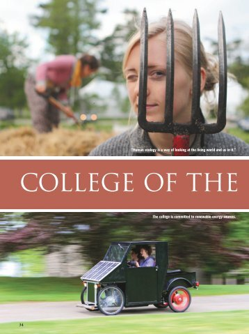 College of the Atlantic - janetmendelsohn.com