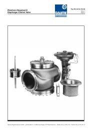 Membran-Regelventil Diaphragm Control Valve - Daume ...