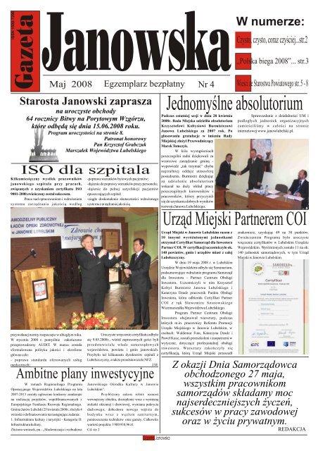 Maj Gazeta 2 Um Janã³w Lubelski