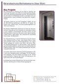 Brandschutz Schiebetore über Eck! - Jansen - Seite 2
