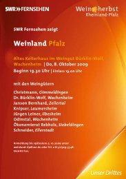 Weitere Infos im PDF - Weingut Janson Bernhard