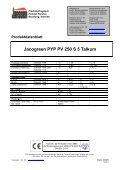 Jacogreen PYP PV 250 S 5 Talkum - H. Janssen & Co. KG - Page 3