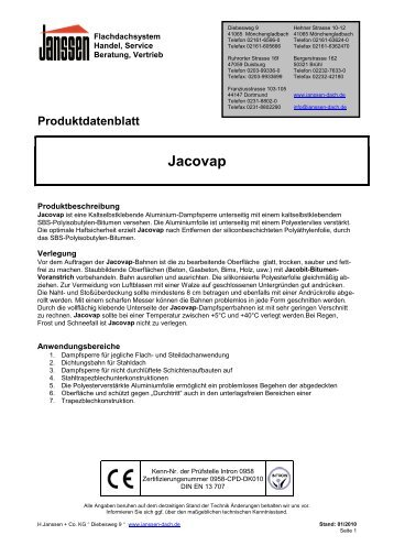 Jacovap - H. Janssen & Co. KG