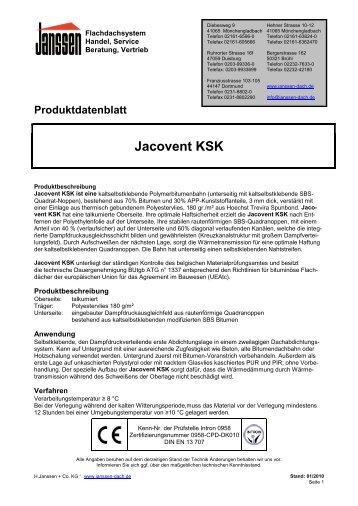 Jacovent KSK - H. Janssen & Co. KG