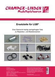 Ersatzteile für LGB - Champex-Linden