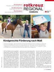 Rotkreuzmagazin 4 / 2011 - DRK Landesverband Hamburg ev