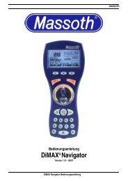 DiMAX® Navigator - Massoth Elektronik GmbH