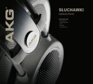 AKG Headphones - Full-line Catalog 2008 - NCS HiFi