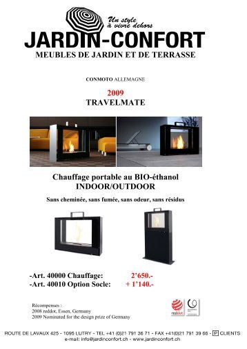 Catalogue - Jardin-Confort