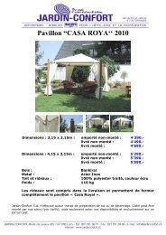 Pavillons et abris - Jardin-Confort
