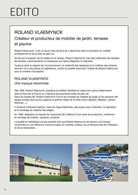 EDITO ROLAND VLAEMYNCK Cr