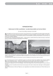 16 à 21 - Association des Parcs et Jardins en Région Centre