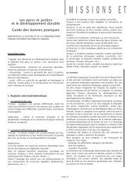 Pages 10 à 13 - Association des Parcs et Jardins en Région Centre