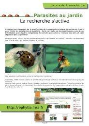Pages 20 et 21 - Association des Parcs et Jardins en Région Centre
