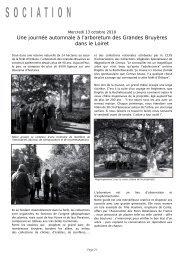 Pages 21 à 23 - Association des Parcs et Jardins en Région Centre
