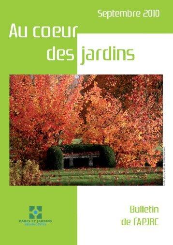 Sommaire, Editorial - Association des Parcs et Jardins en Région ...