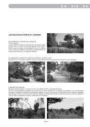 pages 20 à 23 - Association des Parcs et Jardins en Région Centre