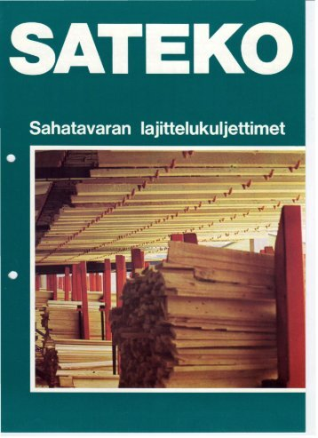 Sateko sahatavaran lajittelukuljettimet.pdf - Jartek