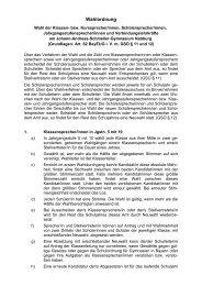 Wahlordnung 2010 - Johann-Andreas-Schmeller-Gymnasium ...