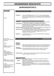 Grundwissen für die Jahrgangsstufe 8 (pdf)