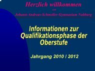 1 2 - Johann-Andreas-Schmeller-Gymnasium Nabburg