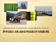 pdf-Datei zu Spanisch als spät beginnende Fremdsprache