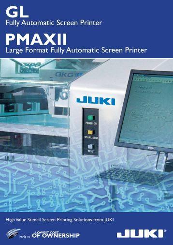 Printer - juki automation systems