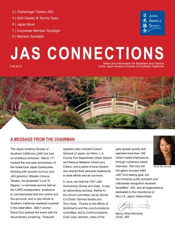Issue 4 - Japan America Society of Southern California