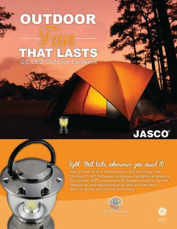 OUTDOOR - Jasco Products