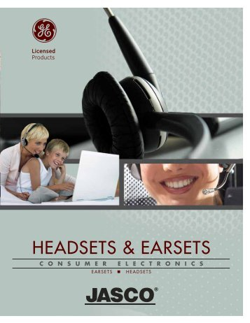 HEADSETS & EARSETS - Jasco Products