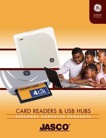 CARD READERS & USB HUBS - Jasco Products